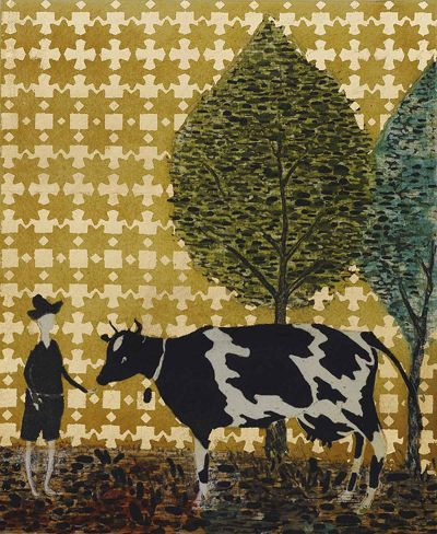 Cow__Brother-400x488 Stephen Chambers, Cow and Brother