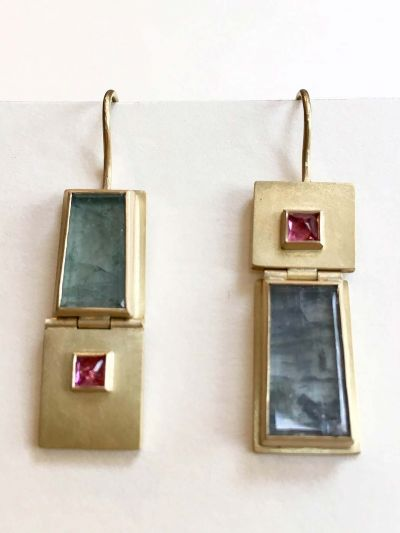 catherine-mannheim_32194208377_o-400x533 Catherine Mannheim Earrings grey tourmaline and square red sapphires